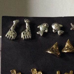 Misc. Post Earrings - Animals, Crosses, Rhinestone